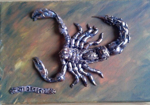 Steampunk Scorpion