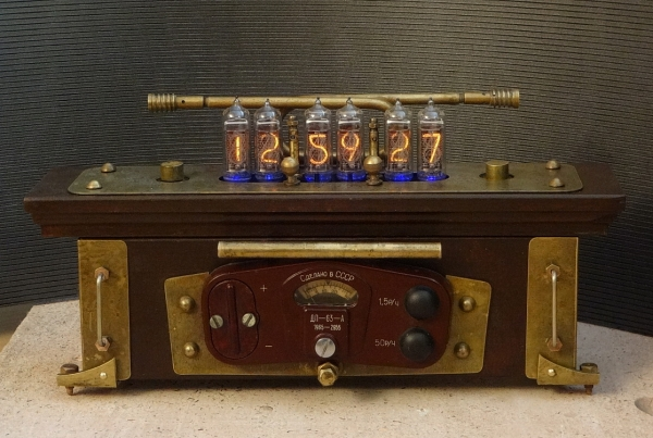 Nixie clock (Часы на ИН-14-6)