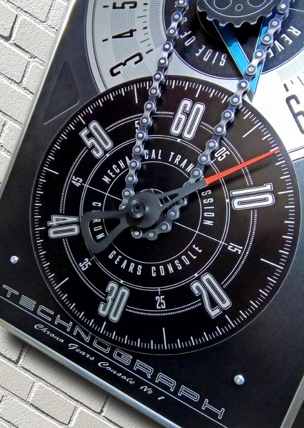 Часы настенные: Technograph / Chrono Gears Console №1.
