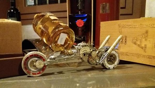 Стимпанк мотоциклы из часов, По соображению коллективного одобрения моего скромного хобби решил продолжить рукоблудство )))