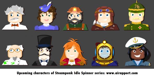 10 стимпанк персонажей