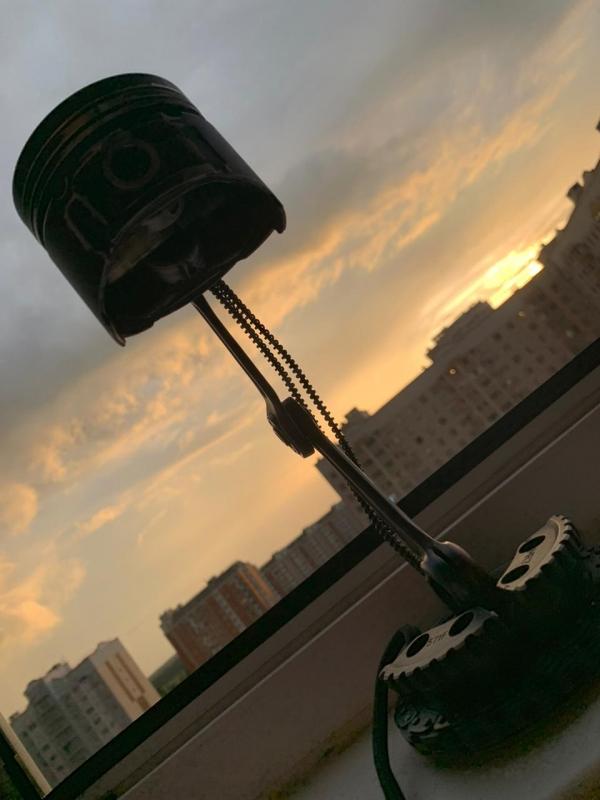 Лампа,  четылёхлисник