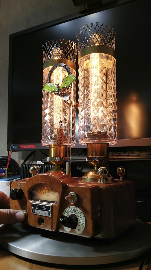 Настольная лампа Эдисона в стиле индастриал