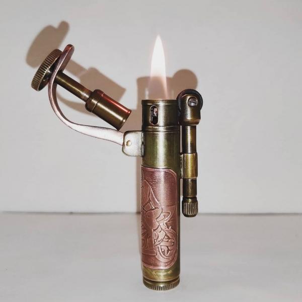 Зажигалка бензиновая с гравировкой