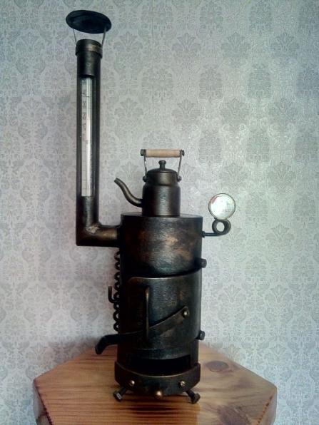 Термометр Печка буржуйка