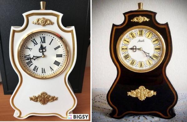 Часы в стиле стимпанк, настольные Агат из СССР 107
