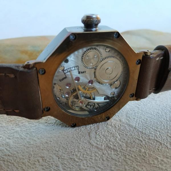 Часы из латуни, руками сделанные 110