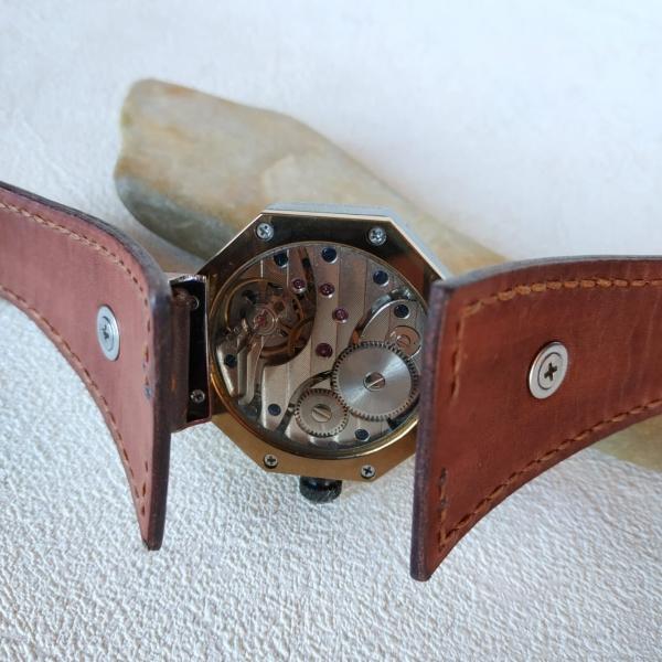 Часы из латуни, руками сделанные 113