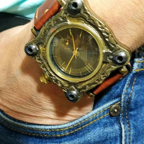 Часы РУКАМИ СДЕЛАННЫЕ 116
