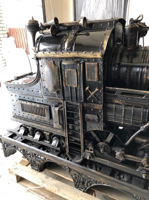 Мангал-паровоз
