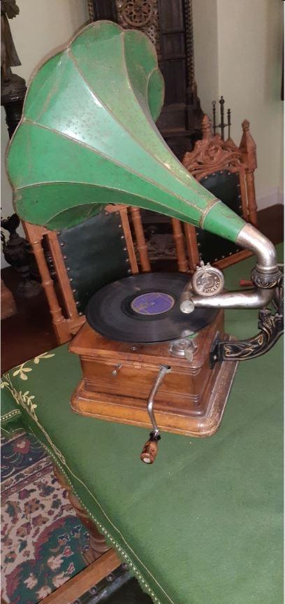 Обычный граммофон