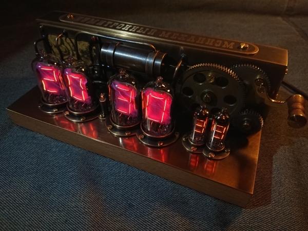 Часы Нумитронный механизм на накальных индикаторах