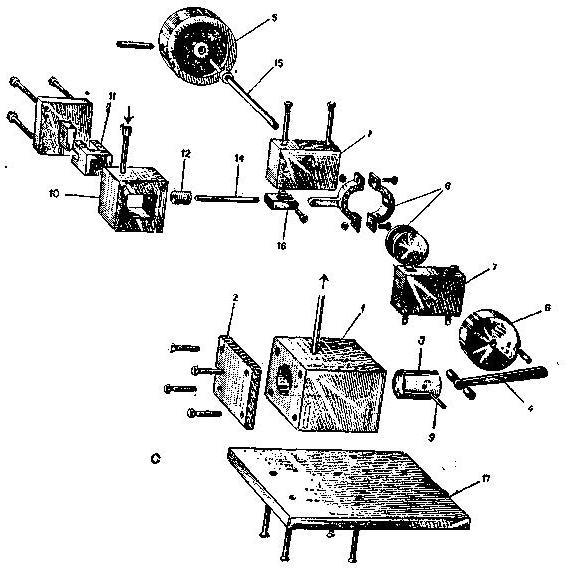 Схема парового двигателя чертеж