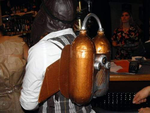Steampunk Rocketeer costume